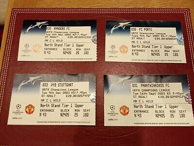 £7.99 • Buy Tickets. Manchester United Champions League Home Games Rangers. +  3 More.