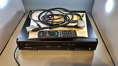 £55 • Buy Panasonic DMR EZ49V VHS Video DVD Combi Recorder Freeview - With Remote & Cables