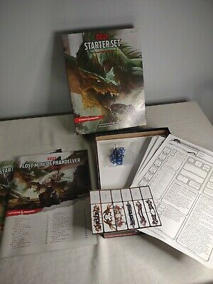 £10.88 • Buy Dungeons And Dragons Starter Set 5th Edition D&D Starter Kit COMPLETE