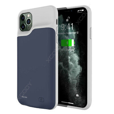 £22.99 • Buy Smart Battery Case External Charging Power Cover For IPhone 11 Pro Max 6000mAh