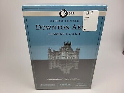 £9.41 • Buy NEW SEALED Downtown Abbey Seasons 1, 2, 3,&4 Limited Edition DVD Set
