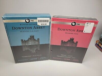 £18.11 • Buy NEW SEALED Downtown Abbey Seasons 1-6 On Two Boxed Sets New Sealed!