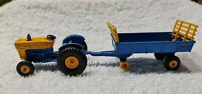 £7.99 • Buy MATCHBOX LESNEY No39 FORD TRACTOR AND No40 HAY TRAILER