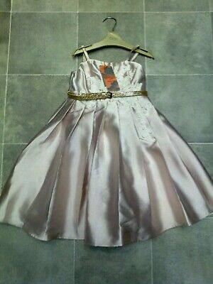 £0.99 • Buy BNWT Evagelina Christening Flower Girl Party Occasion Dress 8 Years MONSOON £55