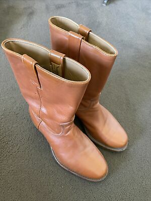 AU425 • Buy Rm Williams Vintage Yearling Long Boot Pull Up Tan Size 7h