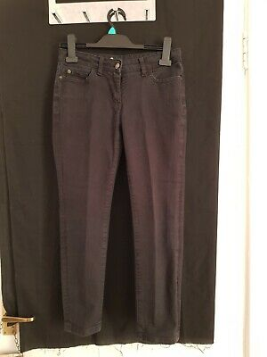 £3 • Buy Womens Boden Black 3/4 Crop Length Low Rise 8in Skinny Jeans W30 L24 Size 8P
