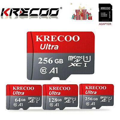 AU4.99 • Buy Micro SD Card 256GB Memory Card Ultra Fast 4K Class 10 Mobile Phone Tablet