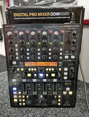 £139.99 • Buy DDM4000 Digital Pro 5 Channel Mixer With Sampler, 4 Fx Sections, Dual BPM Count