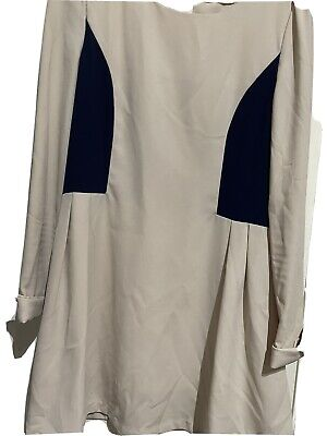 £0.99 • Buy Topshop Concessions Cream Dress Size S