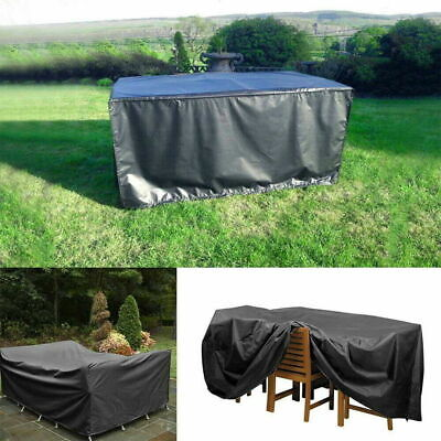 £17.99 • Buy Heavy Duty 270x180x89cm Garden Patio Furniture Cover For Rattan Table Cube Set