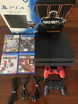 AU222.50 • Buy Sony PS4 Playstation 4 1TB Black Console. Used And In Perfect Condition