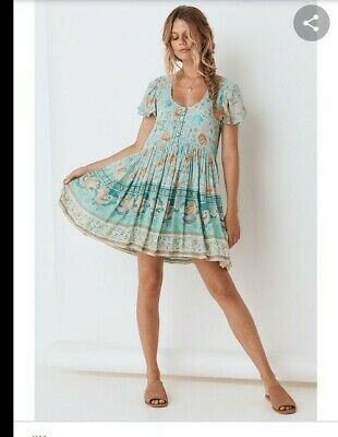 AU160 • Buy Spell And The Gypsy Seashell Mini Dress Size Small