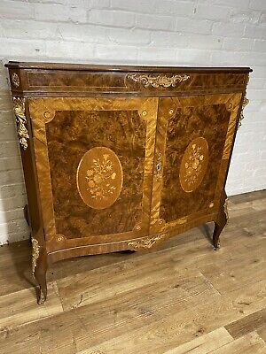 £695 • Buy Antique French Style Marquetry Walnut Sideboard .Delivery Available Most Area
