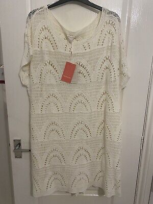 £45 • Buy Stunning BNWT Crochet / Knit Dress From Monsoon With Detachable Lining