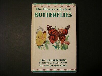 £17 • Buy The Observer's Book Of British Butterflies, 1962