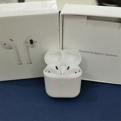 AU45.76 • Buy Ap-ples Air-Pods 2nd Generation With White Wireless Charging Case Headset Hot Au
