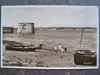 £12.50 • Buy Wales,  Pembrokeshire,    The Fort, Pembroke Dock,  Real Photograohic,  1955.