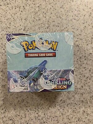 AU249 • Buy Pokemon Sword And Shield Chilling Reigns Booster Box  SEALED