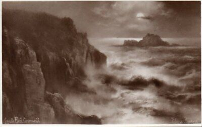 £2.75 • Buy Chic Series Postcard Lands End Cornwall Painting By Elmer Keene Unposted