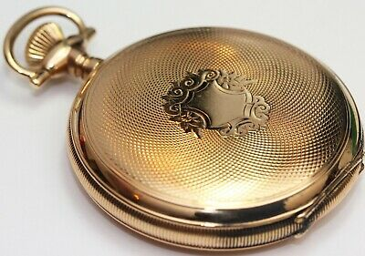 £146.83 • Buy 1902 Antique WALTHAM 16 SIZE HUNTING CASE Ornate Pocket Watch - EXCELLENT