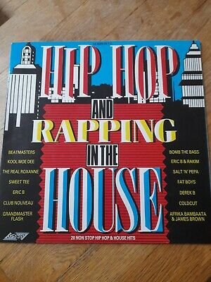 £1.99 • Buy Various Artists  - Hip Hop & Rapping In The House Vinyl Album 1988