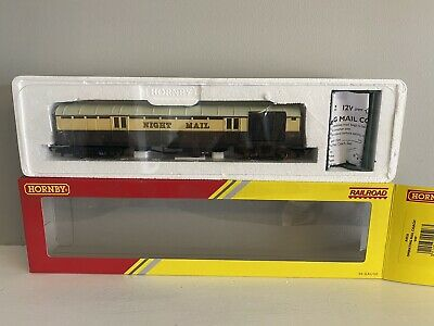 £39.95 • Buy Hornby R4526 GWR Royal Mail TPO  849  Operating Mail Coach Set