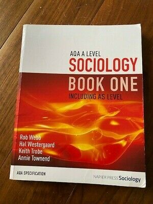 £10 • Buy AQA A Level Sociology Book One Including AS Level