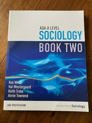 £10 • Buy AQA A Level Sociology Book Two Including AS Level