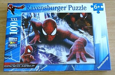 £3.99 • Buy NEW Ravensburger Spider-Man 100 XXL Piece Jigsaw Puzzle Factory Sealed