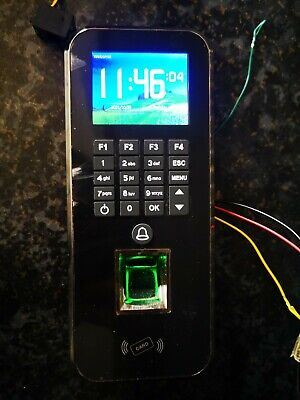£24.99 • Buy Employee Attendance Time Clock Check In Out Biometric Fingerprint Payroll Device