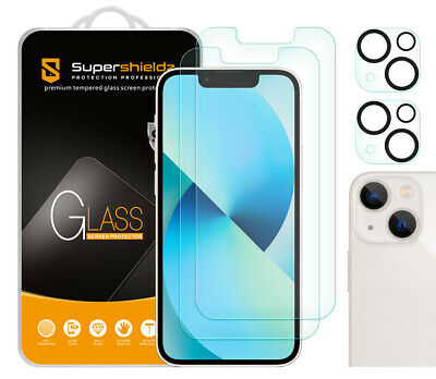 AU16.01 • Buy 2X Anti-Glare Matte Tempered Glass Screen Protector For IPhone 13 Mini 5.4 +Lens