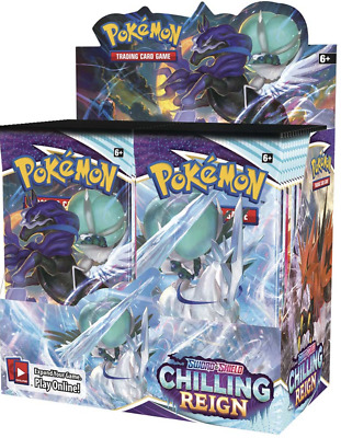 AU194.99 • Buy Pokemon TCG Chilling Reign Booster Box