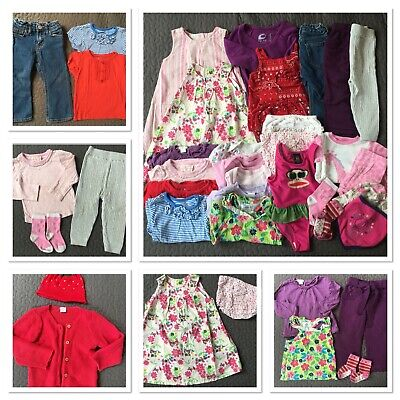 £11.99 • Buy 12-18 Months Baby Girl Clothes Bundle, 28 Items, Monsoon H&M M&S Paul Frank