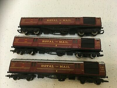 £19 • Buy Lot..890..OO GAUGE HORNBY ROYAL MAIL LMS TPO COACHES..X..3..................#20#