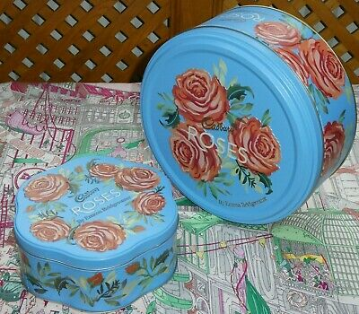 £8.50 • Buy Emma Bridgewater Collectable Roses Tins Limited Editions X 2