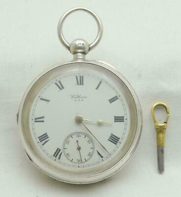£0.99 • Buy Antique Waltham Silver Cased Open Face Pocket Watch.