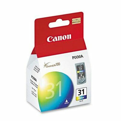 £21.23 • Buy Genuine Canon CL-31 PIXMA Ink IP2600 IP1800 MP140 MP190 MP210 MP470 CL31 CL 31