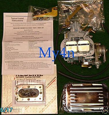 $ CDN341.27 • Buy Suzuki Samurai Redline Kit  Weber Carburetor 32/36 K601 With Manual Choke