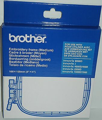 Genuine  Brother EF74 Embroidery Machine Hoop/Frame 4 X4 Fits V3 V5 V7 800E 2600 • 39.75£