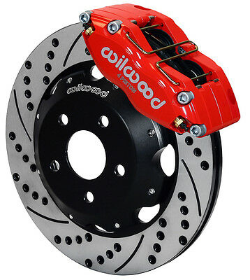$1159.99 • Buy Wilwood Disc Brake Kit,front,fits Subaru Impreza,wrx,forester,legacy,12 ,red,drl