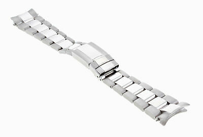 $ CDN7387.90 • Buy 20mm Mens 18k White Gold Oyster Watch Band Strap For Rolex Daytona 40mm