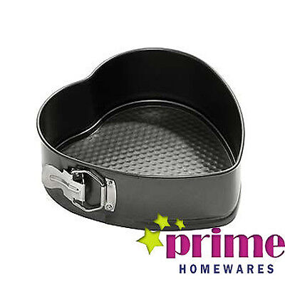 Beautiful Heart Shaped Spring Form Cake Tin Great For Baking Love Baking  • 8.49£