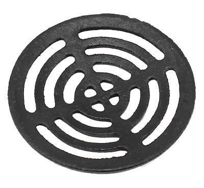 £6.95 • Buy Black Cast Iron Round Gully Grid Man Hole Grate Drain Cover 5  6  7  8  9  11