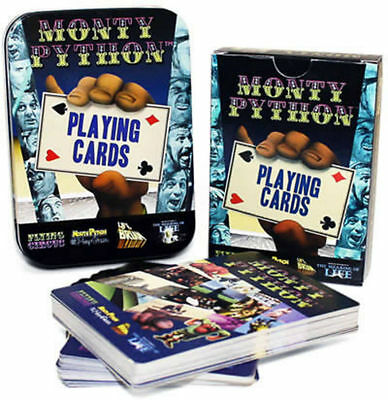 £2.99 • Buy Monty Python Playing Cards Brand New In Collectors Tin Full 52 Cards +bonuscards
