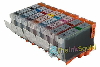 £8.35 • Buy 8 X Chipped Compatible CLI-8 Ink Cartridges For Canon Pixma PRO 9000 Printer