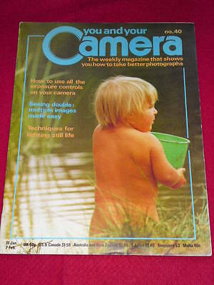 YOU AND YOUR CAMERA #40 - SEEING DOUBLES - Jan 31 1980 • 4.99£