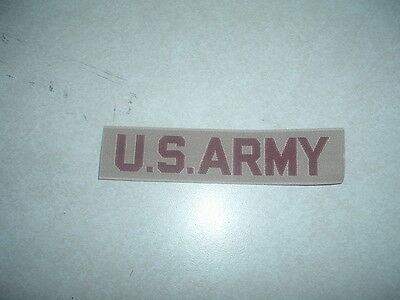 $1.49 • Buy Military Patch Us Army Name Tape Tag Desert Tan Sew On For Desert Camo