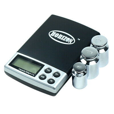 $15.68 • Buy DS-19 500 X 0.01g Digital Pocket Jewelry Scale With Calibration Weights