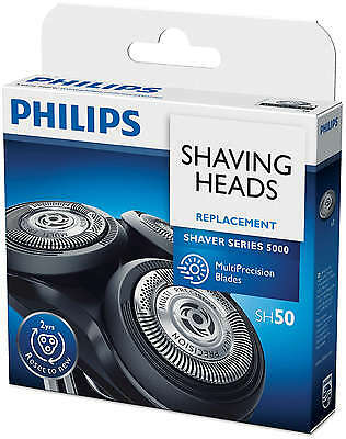 $ CDN67.69 • Buy PHILIPS Norelco SH50 / HQ8 Replacement SHAVING HEADS S5000 PT/AT 7xx 8xx HQ NEW