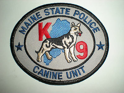 $6.50 • Buy Maine State Police K-9 Unit Patch